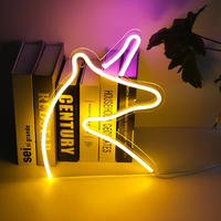Shop Window Wall Hanging Neon Light Atmosphere Art Wedding Party Bar Home Led Decoration USB Powered Word Sign Photography Prop