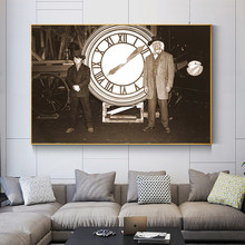 Classic Movie Back To The Future Canvas Painting Posters and Prints Retro Photo Wall Art Picture Home Decoration Cuadros