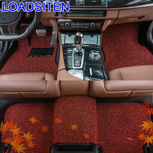 Parts Modified Automovil Decorative Accessories Auto Modification Mouldings Protector Carpet Car Floor Mats FOR Suzuki Vitelaru