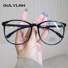 Light-Glasses Frames Optical-Spectacles Computer-Eye Anti-Blue Women Black Oulylan