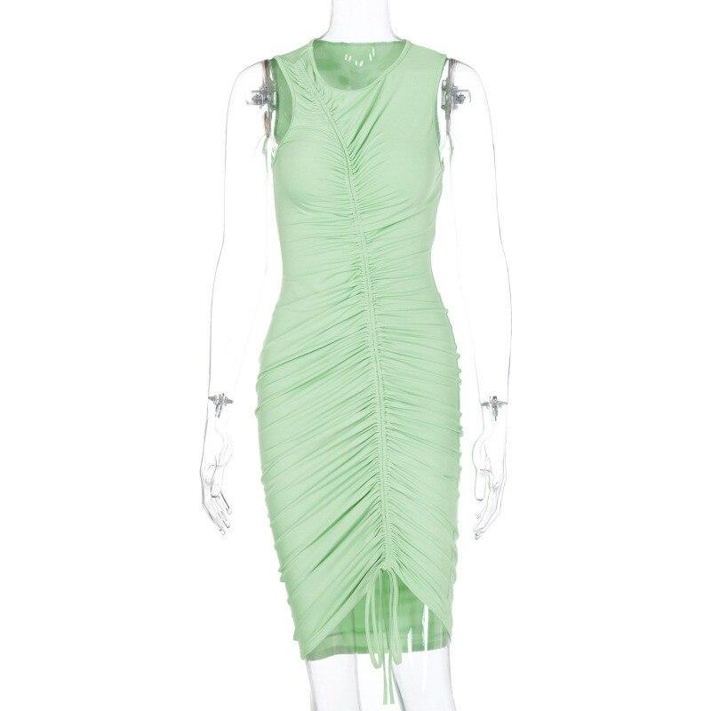 sleeveless mini short dress19