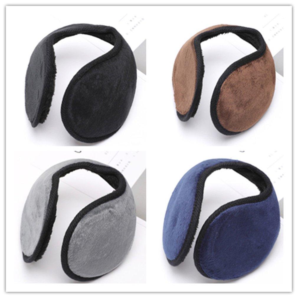 Korean Style Fashion Winter Ear Warmers Comfortable Soft Fleece Ear Muffs Men Earwarmer Ear Protector Cover