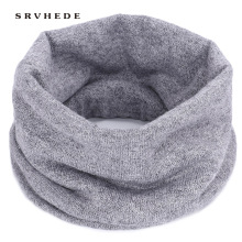 Hot Women Men Fashion Female Winter Warm Scarf Solid Chunky Cable Knit Wool Snood Infinity Neck Warmer Cowl Collar Circle Scarf 2019 new winter warm solid brushed knit neck circle outdoor ski climbing scarf for men women go out wrap cowl loop snood shawl