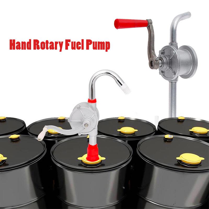 Ручной масляный насос для мотоцикла, ручной поворотный насос для перекачки масла и топлива для автомобиля, грузовика, прицепа, RV, лодки и т. д...