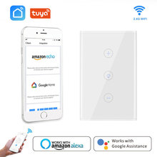 Wifi Dimmer Smart Wall Touch Light Switch US Standard Remote smart life Tuya APP Voice Control Work with Alexa Google Home IFTTT wifi smart wall touch light dimmer switch ac100 240v10a us eu uk standard free app voice control work with alexa and google home