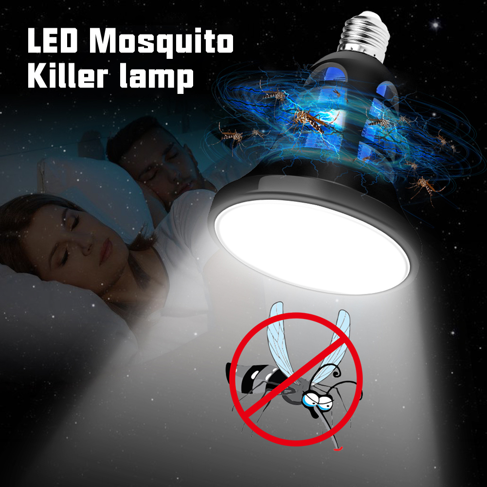 110V~220V LED Mosquito Killer Bulb E27 LED Bulb For Home Lighting Bug Zapper Trap Lamp Insect Anti Mosquito Repeller Light