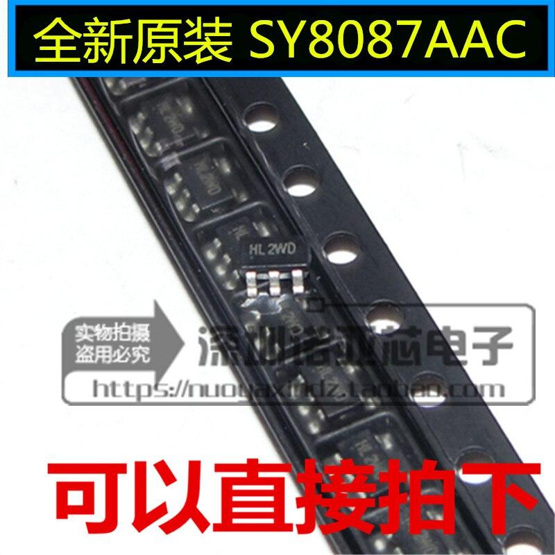 10 قطعة/الوحدة SY8087AAC SY8087 SOT23-5 العلامة التجارية الجديدة الأصلي إدارة الطاقة رقاقة