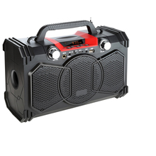30W Bluetooth Speaker Portable Wireless 3D Stereo Big Power Speakers Soundbox With Remote Control Support FM Radio MIC TF AUX US leory 220v bluetooth speaker led light display 15inch big power subwoofer speaker with mic tf remote control player