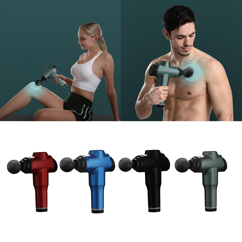 Fitness Home Electric Fascia Tool Relaxation Massager Charging Muscle Massage Tool Fitness Equipment Sports