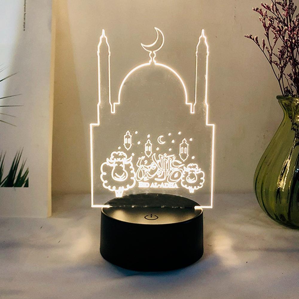 Arabic Muslim Ramadan Light Ramadan And Eid Decor For Home Islamic Muslim Party Decor Islam Supplies Ramadan Kareem Eid Al Adha