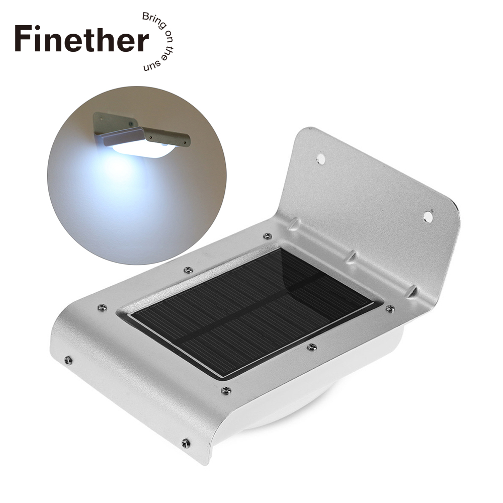New Generation 16 LED Solar Power Energy PIR Infrared Motion Sensor Garden Security Lamp Outdoor Light