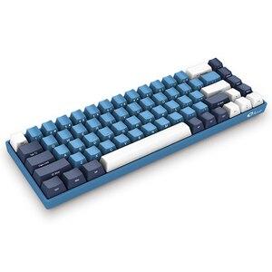 Image 4 - AKKO 3068 SP Ocean Star 68 Tasten Gamingl Tastatur Wired USB Typ C Kirsche Schalter 85% PBT Tastenkappen Computer gamer Programmierbare
