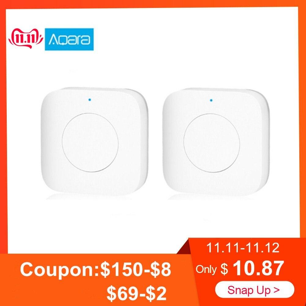 Aqara WXKG12LM Smart Wireless Switch Intelligent Home App Remote Control / Doorbell International Version
