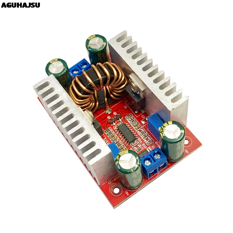 DC 400W 15A Step-up Boost Converter prąd stały zasilacz LED 8.5-50V do 10-60V moduł ładowania napięcia Step Up