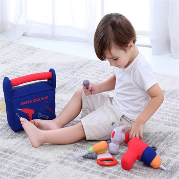 1 Set Repair Tool Play House Toys Model For Baby Early Learning Educational Toys Home Plastic Simulation Tools 1
