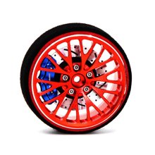 2019 Metal Remote Control Handwheel Vehicle Toy Spare Part Accessories Remote Controller For TRAXXAS X-maxx Summit E-revo Slash brushless motor traxxas e revo e maxx creations castle1515 creations 2200kv accessories