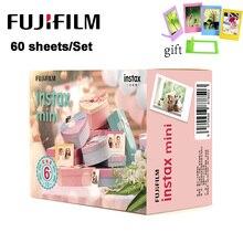 60 Sheets/Set Fujifilm Instax Mini Film Instant Camera White Edge Photo Paper for Instax Mini LiPlay 9 8 7s 25 70 90 SP 2 Camera