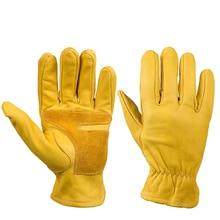 Новые перчатки из воловьей кожи, кожаные перчатки для мотокросса, мотокросса, мотоциклистов, гонок, верховой езды, ручного мотора, перчатки для мужчин
