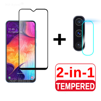 2 In 1 on For Samsung Galaxy A50 A90 5G Camera Lens Film Screen Protector Protective Tempered Glass for Galaxy A51 A71 Glass Fil image