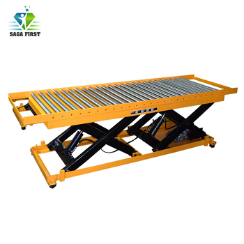 High Quality Hydraulic Lift Platform For Sale With Rolls