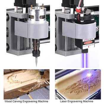 CNC 3018 PRO Laser Engraver 15W Wood CNC Router Machine GRBL ER11 DIY Engraving Machine for Wood PCB PVC Mini CNC3018 Engraver