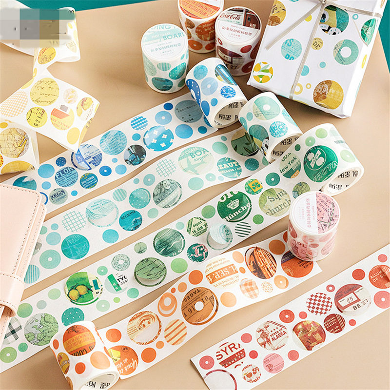 Decorative Masking DIY Tapes for Children Gifts Wrapping Planner DIY Arts /& Crafts 50 Rolls Washi Tape Set Journal Decorating Scrapbook
