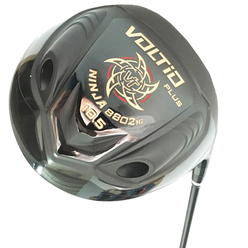 New Golf Clubs Katana Voltio PLUS Driver 9.5 Or 10.5 Loft Black Golf Driver R Or S Clubs Graphite Shaft Cooyute Free Shipping