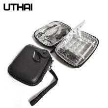 """Защитный чехол UTHAI T28 2,"""" для жесткого диска, EVA коробка для жесткого диска, чехол для внешнего аккумулятора, сумка для хранения кабеля мыши"""