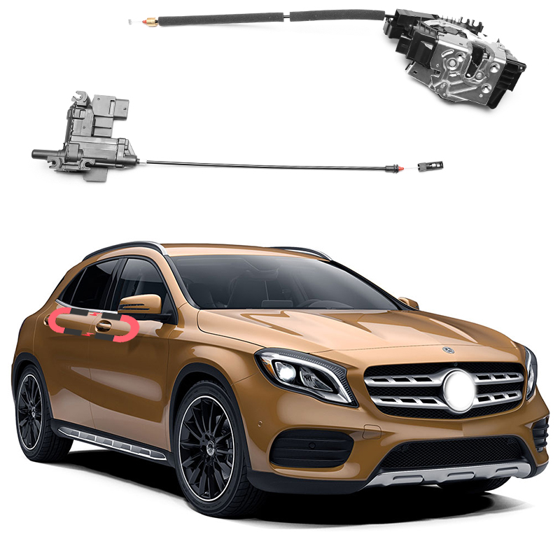 For Mercedes-Benz GLA Electric Suction Door Automobile Refitted Automatic Locks Car Accessories Intelligence Suction Door