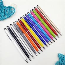Stylus Ballpoint-Pen Refill Touch-Pen Tablet Smart-Phone Green Originality Metal Black