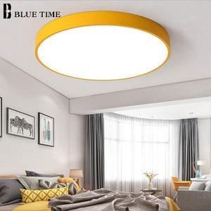 Image 3 - Modern LED Chandelier For Living Room Bedroom Lustre Round Ceiling Chandelier Lighting Fixture Lampara Techo Black&White Lamps