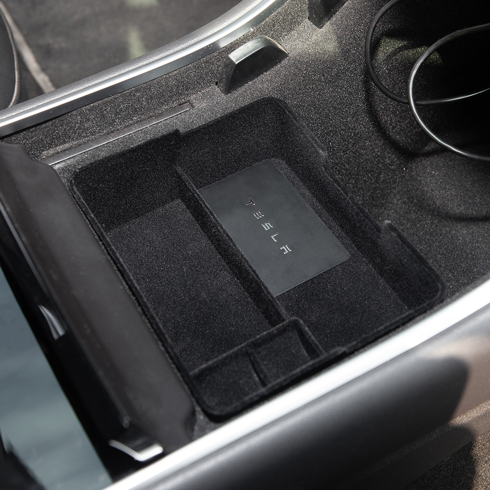 lowest price Heenvn Model3 Car Central Armrest Storage Box For Tesla Model 3 Y Accessories Console Holder Auto Container Glove Organizer Case