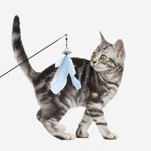 Игрушки для кошек Пластиковые котенок Интерактивная палка забавная