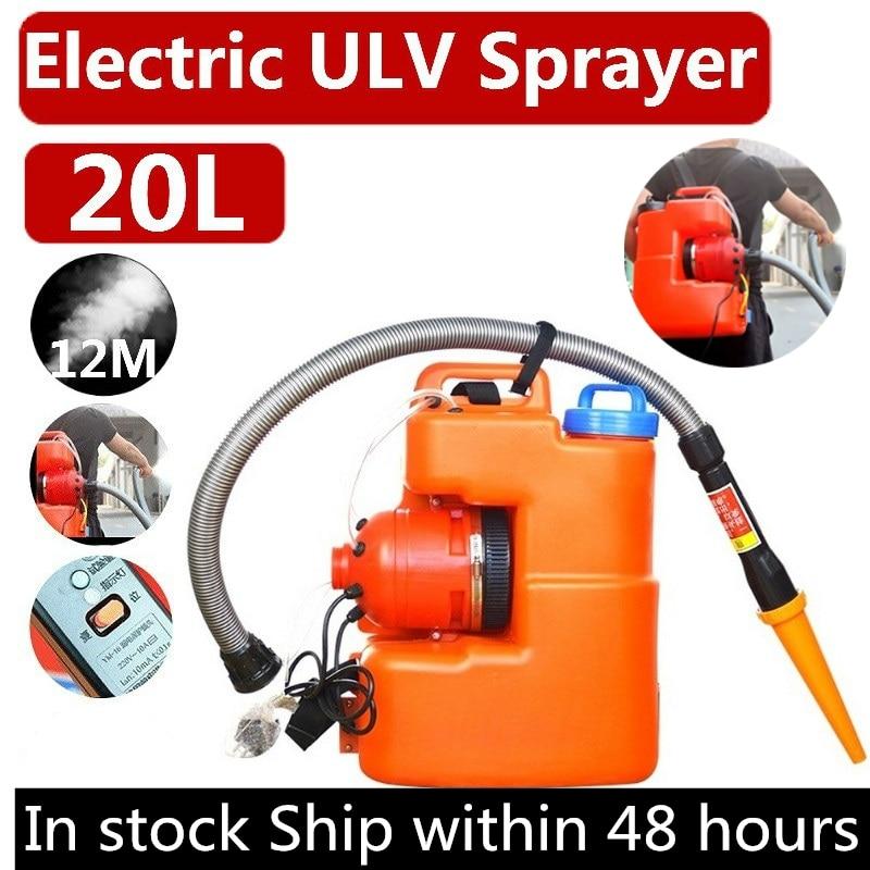 220V UK Plug 20L 2600W Electric Fogger Machine  ULV Sprayer Mosquito Killer Farming Office Industrial Disinfection Sterilizat