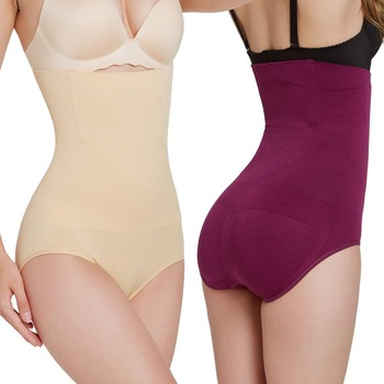 Women High Waist Trainer Body Shaper Pants Tummy Belly Control Slimming Shapewear Girdle Underwear Shaping Panties Breathable 1