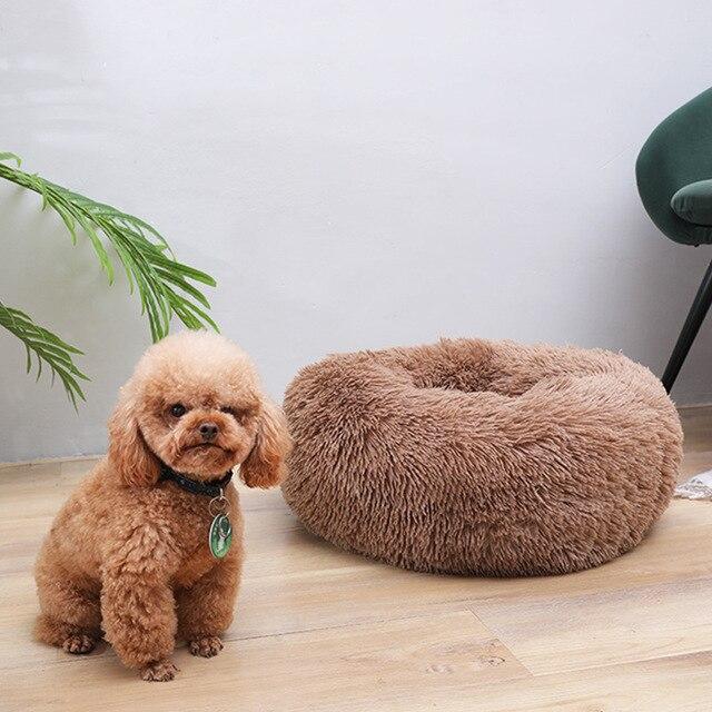 Round Dog Bed 4