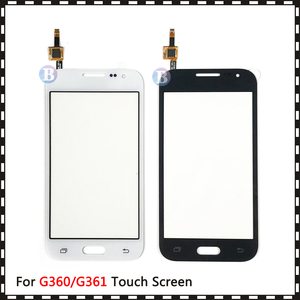 """Image 4 - 4.5 """"Voor Samsung Galaxy Duos Core Prime G360 G360H G3608 G361 G361H G361F Touch Screen Digitizer Sensor Glas Lens panel"""