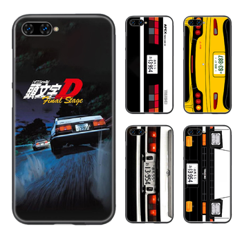 Japan Initial D AE86 car Phone Case Cover Hull For HUAWEI honor 8 8c 8a 8x 9 9a 9x V10 MATE 10 20 I lite pro black cell cover image
