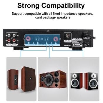 Усилитель мощности SUNBUCK AV-299BT, USB, FM, Bluetooth, MP3, 2 микрофона, 2*50 Вт 4