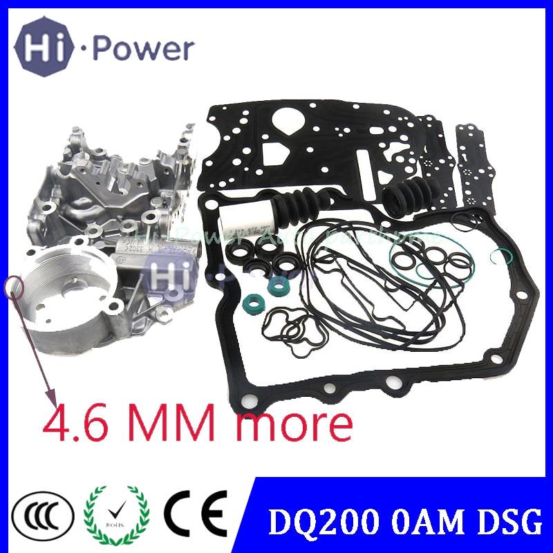 Accumulate Housing 4.6 DSG DQ200 0AM 0AM325066AC 0AM325066C 0AM325066AE 0AM325066R Transmission Valve Body For Audi Skoda 7speed