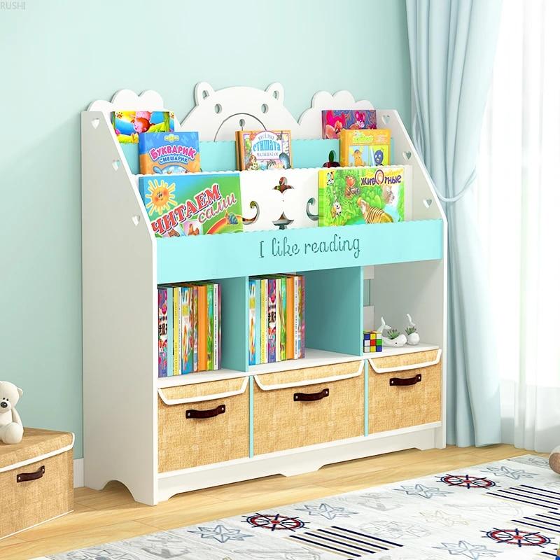 bibliotheque de sol pour etudiants etagere murale simple pour fenetre bibliotheque pour enfants et bebes support de collection de livres d images