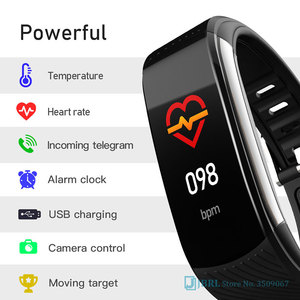 Image 5 - 2020 New Smart Watch Women Men Body Temperature SmartWatch Fitness Tracker Heart Rate Monitor Smart clock For Andriod IOS