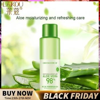 LAIKOU Aloe Face Tonic Hydration Facial Toner Skin Care Products Pore Minimizer Oil Control Makeup Water  Face Toner Skin Care недорого