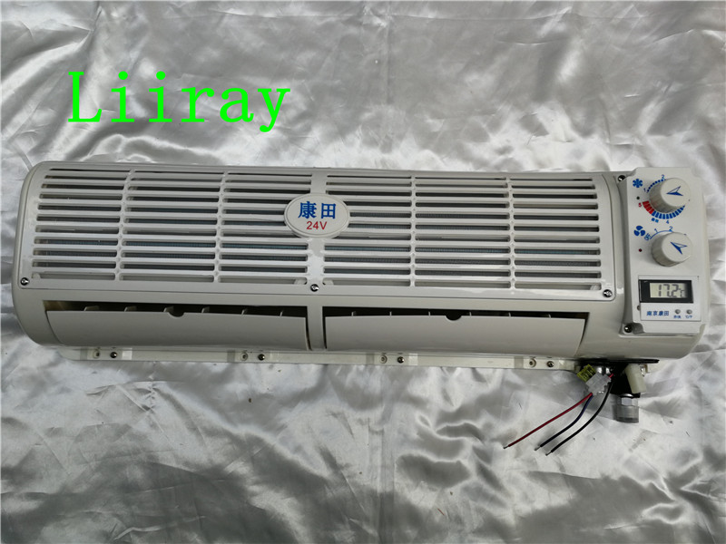 70X23X16CM LONG AUTO AC EVAPORATOR UNIT FOR TRUCK HARVESTER EXCAVATOR MIXER TRUCK ENGINEERING VEHICLE TO MODIFY AIR CONDITIONER image