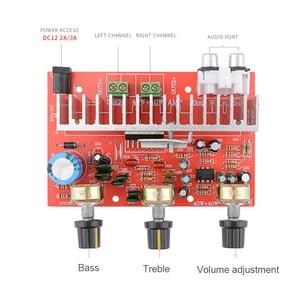 Image 2 - Lusya TDA7377 Digital Audio Amplifier Board 40W+40W Stereo 2.0 Channel power amplificador for Car DIY speaker DC12V E5 005
