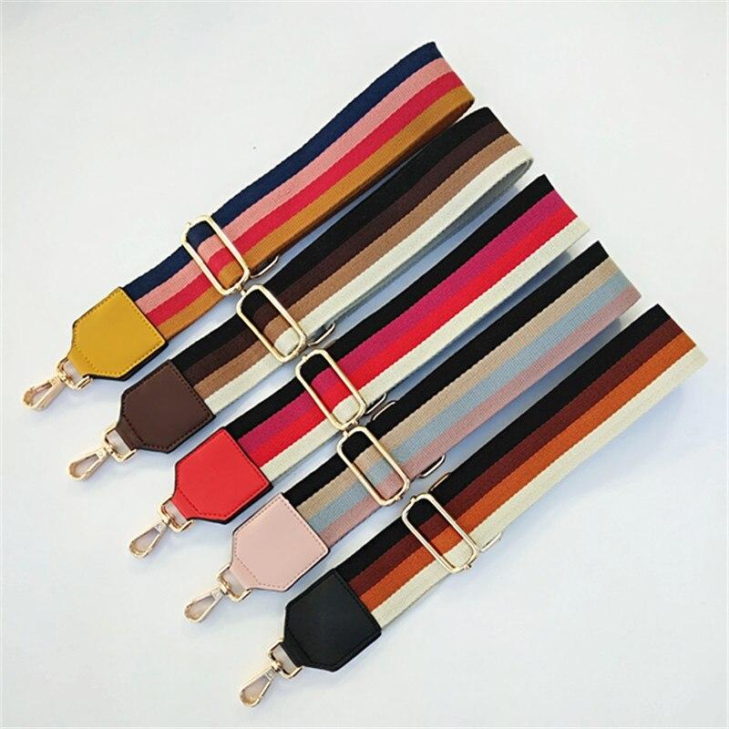 Nylon Colored Belt Bag Strap Accessories For Women Crossbody Shoulder Handbag  Wide Straps For Bags Handles For The Bag Purse