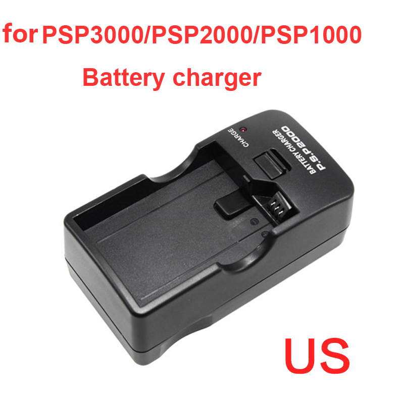 Battery Charger with US Plug Desktop Wall Charger For Sony PSP 1000/2000/3000 PSP1000 PSP2000 PSP3000 Battery