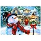 Christmas Snowman DI...