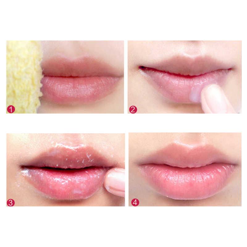 12ml hidratante lábios cosméticos remover a pele morta própolis lábios esfoliantes cuidados com os lábios