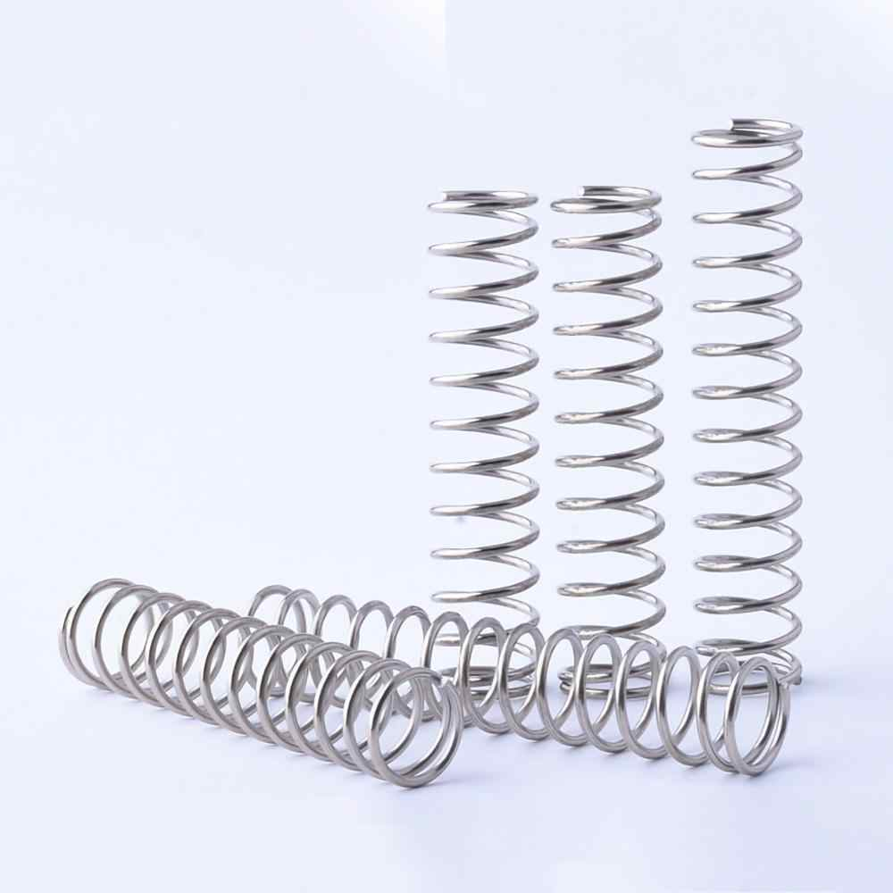 wire width 1mm Steel compression Coil Coiled Spring OD 7.5mm x 30mm